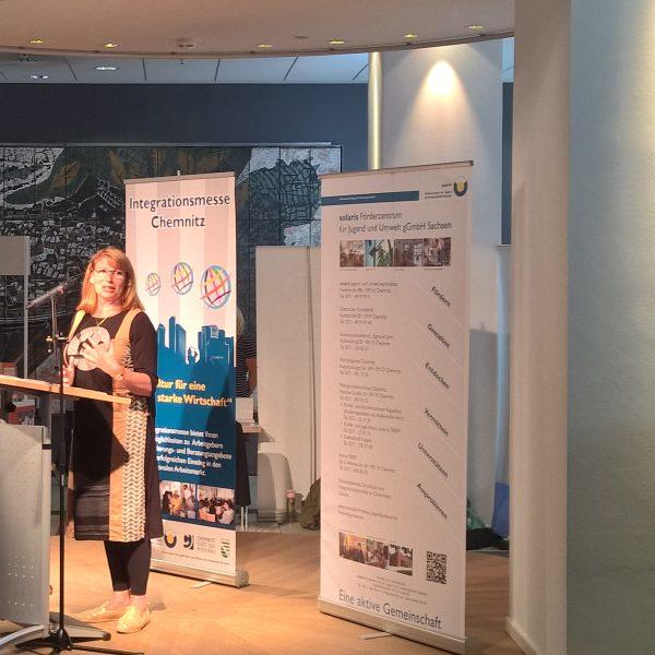 Vortrag und Diskussionsbeteiligung bei der Integrationsmesse Chemnitz 2017