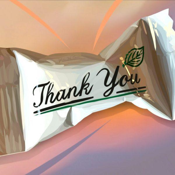 Zeit nochmal ganz herzlich Danke zu sagen …